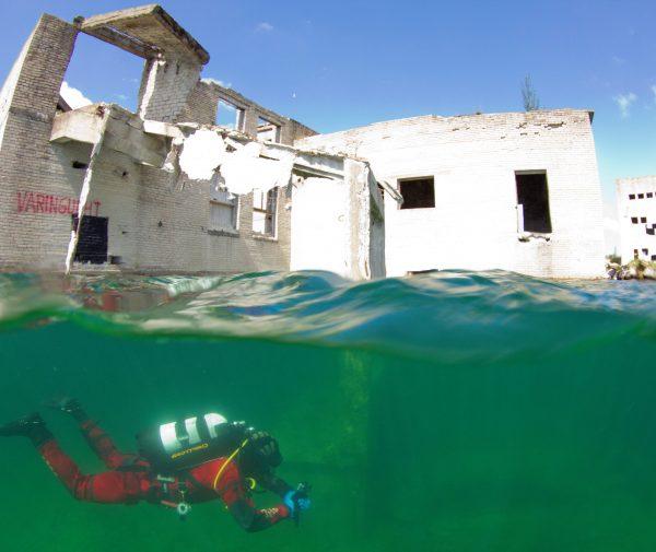 Use this Rummu underwater prison